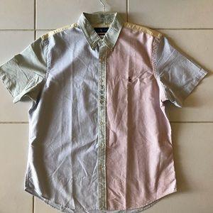RalphLauren Embroidered Oxford Shirt Short sleeves